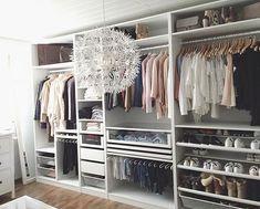 Wow! Tror jag hittat min dröm garderob.. | Ikea Pax