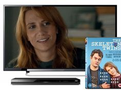 "Win a 32"" LED TV with the release of The Skeleton Twins"