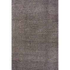 nuLOOM Hand-Tufted Ago Area Rug or Runner, Black