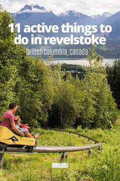 From alpine hikes to mountain bikes, outdoor markets and waterfall trifectas, a guide to 11 active things to do in Revelstoke BC in summer. Columbia Travel, British Columbia, Mountain Resort, Mountain View, Revelstoke Bc, Parks Canada, Best Family Vacations, Local Tour, Walking Tour