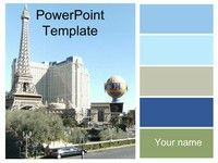 Las vegas Powerpoint Template, for a minute there i thought it was Paris
