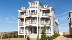 Experience an Outer Banks vacation like no other from Sound to Sea Beach Club. This home embodies lavish oceanfront living and design.  This pet friendly rental has a private pool, an elevator, and a pool table among many other amenities. Click here for more.