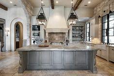 Interior - mediterranean - Spaces - Houston - Allan Edwards Builder Inc