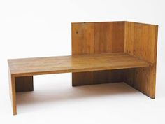 Donald Judd - winter garden bench...