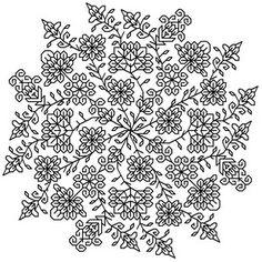 Bindalli blackwork by Seba designs