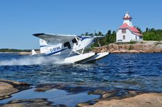 Georgian Bay Airways offers flights from Parry Sound over scenic Georgian Bay