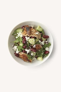 July 29th - August 4th we will be featuring the following from Meatless by Martha Stewart Living: Fatoush with Crumbled Feta + Stewed Lentils with Yoghurt and Cucumbers on Brown Rice