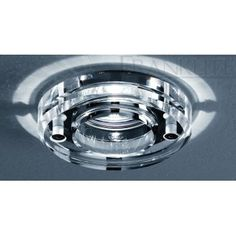 Franklite Crystal Glass Ceiling Downlight IP65 Rated RF264