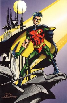 Kal-El, Son Of Krypton (The Art Of Superman) — Robin by Neal Adams.