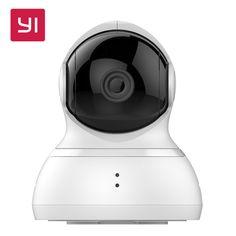 Yi 돔 카메라 팬/틸트/줌 무선 ip 보안 감시 시스템 hd 720 마력 나이트 비전 (미국/eu 판)