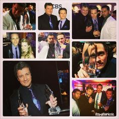 Castle at the 2013 People's Choice Awards
