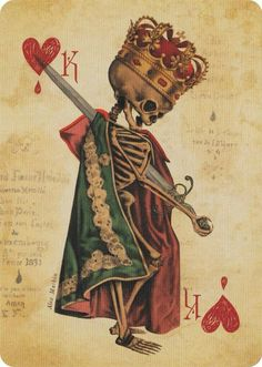 Ultimate Deck - Playing Cards - Art of Play: Designer Playing Cards by Stranger and Stranger design firm. All of the cards are in a - Memento Mori, La Danse Macabre, Stranger And Stranger, Playing Cards Art, Totenkopf Tattoos, Desenho Tattoo, My Demons, Classical Art, Vanitas