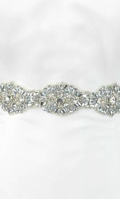 Wedding Dress Accessories - Sash/Belt Ivory  $159 USD - New With Tags