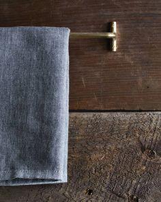 Futagami Brass Towel Hanger