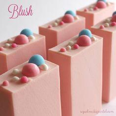 """Blush"" handmade soap, by sapolinasoaps"