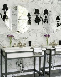 Decorating your Bathroom: French Parisian Style - Your Dream Bathroom
