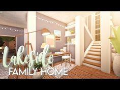 67 ideas for modern family house bloxburg Modern Family House, Family House Plans, Home And Family, Family Room, Home Building Design, Building A House, House Design, Building Ideas, Tiny House Layout