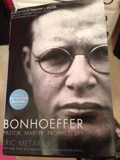 #17 This is a wonderful book about the life of Diedrich Bonhoeffer, the Third Reich, and living the life that God has called you to live!!!! #emptyshelfchallenge2014