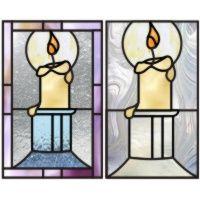 2 Candle ornaments set2