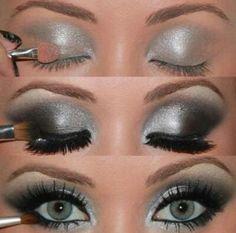 Ispirazioni argento per il make up