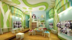 Owl. Forest interior design idea for a baby room. Children playroom idea. Whimsical bedroom idea.