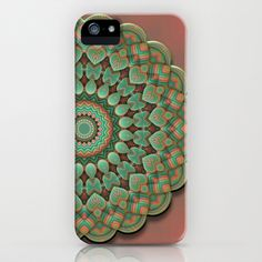 Simple Mandala iPhone & iPod Case by Lyle Hatch - $35.00