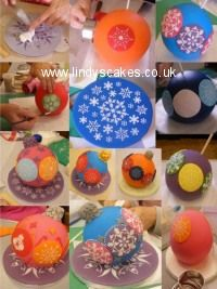 1000+ images about christmas cakepop and cakes on ...