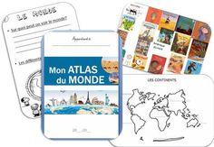 tour du monde - dans le sac de maitresse claire Cycle 3, Special Kids, Homeschool, Parenting, Teaching, Activities, How To Plan, Math College, Montessori