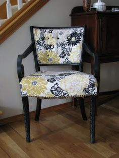 Gorgeous chair makeover