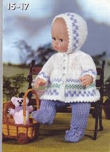 Knitting Patterns For Baby Dolls Clothes Doll Threadsnstitches. Knitting Patterns For Baby Dolls Clothes Ba Doll Clothes Knitting Pattern Dolls Nighti. Knitting Dolls Clothes, Crochet Doll Clothes, Knitted Dolls, Doll Clothes Patterns, Doll Patterns, Crochet Dolls, Crochet Hats, Baby Dolls, Baby Doll Clothes