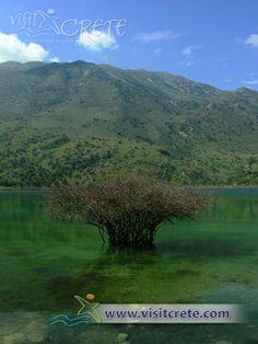 Crete, Chania, Kournas Lake