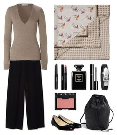 Wine tasting by terezah on Polyvore featuring Closed, Christian Louboutin, Bobbi Brown Cosmetics, NARS Cosmetics and Chanel