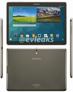 Galaxy Tab S 10.5 leaks on images ahead of launch - http://www.aivanet.com/2014/06/galaxy-tab-s-10-5-leaks-on-images-ahead-of-launch/