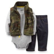 From USA Carter's 3 piece fleece set  Size: 1-2 years Price: 190 EGP
