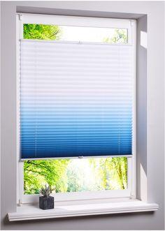 """Jetzt anschauen: Zu den modernen Fensterdekorationen zählt auch das Plissee """"Verlauf"""", welches gleich in mehrfacher Hinsicht in den Blickpunkt rückt. Es ist gleichermaßen Sicht- wie Lichtschutz. Es verhindert fremde Einblicke in die Wohnung, schützt vor Blendlicht durch Sonneneinstrahlung und bereichert das Ambiente. Da es in mehreren Farben erhältlich ist, kann es passend zur Einrichtung ausgesucht werden. Die Montage ist ganz einfach, das Plissee wird mit Kunststoff-Klemmträger be..."""