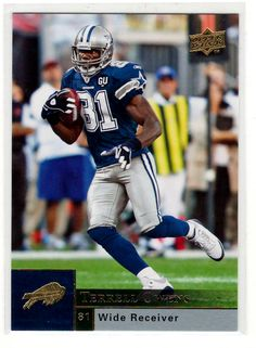 Sports Cards Football – 2009 Upper Deck Terrell Owens. PSYCHO COWBOYS FANS 63948a76a