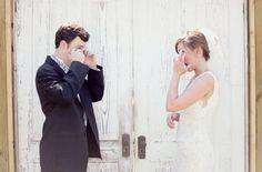 Primeiro olhar fotografia casamento