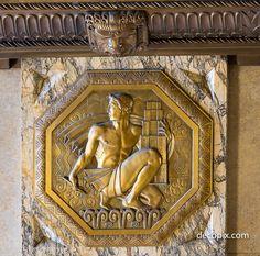 Art Deco Detroit Part 2-The Fisher Building | Decopix