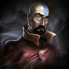 Tenzin by samwdean.deviantart.com  A collab I made with my bf Manthos. <3