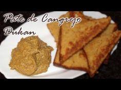 Paté de Cangrejo Dukan - Crab Pate - Receta Fase Ataque Tapas, French Toast, Bread, Breakfast, Ethnic Recipes, Food, Youtube, Dukan Diet, Diets