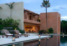 Casa Mantarraya Courtyard | Pacific Luxury Villas