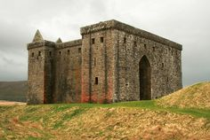 Hermitage Castle, Liddesdale, Scottish Borders - Aug 1528: Abt 30 or 40 Crosers & Nixons rode out of Liddesdale & raided Thirlwall Castle & carried off a small herd of cattle & kidnapped one of Lord Dacre's tenants, then headed for home in a casual manner. Dacre & his men set out after them, just as they caught up w/ the raiders; they fell into an ambush when hundreds of armed riders, Armstrongs, Elliots, Nixons & other Liddesdale names fell upon them. Forty of Dacres men were taken…