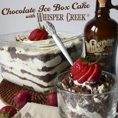 Chocolate Ice Box - Tennessee sipping cream