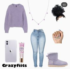 Lit Outfits, Baddie Outfits Casual, Swag Outfits For Girls, Teenage Girl Outfits, Cute Swag Outfits, Dope Outfits, Retro Outfits, Girly Outfits, Stylish Outfits