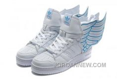 http://www.jordannew.com/adidas-originals-jeremy-scott-x-js-wings-20-white-blue-for-sale.html ADIDAS ORIGINALS JEREMY SCOTT X JS WINGS 2.0 WHITE BLUE FOR SALE Only $80.00 , Free Shipping!