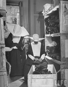 NUNS ....SISTERS OF CHARITY...BRIDES OF THE CHRIST...