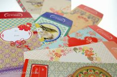 "Assorted money envelope ""angpao"" by Sopha & Co. Money Envelopes, Stationery, Happy, Cards, Fun, Blog, Papercraft, Paper Mill, Blogging"