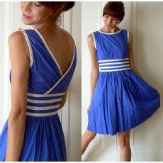vintage nautical dress.