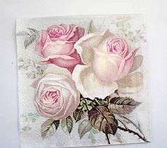 Papier - Servítka V2- Love Rose - 6641639_