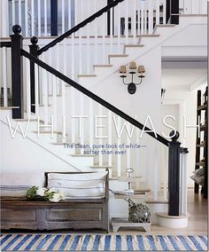 black + white stairc